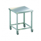 Stainless Steel Machine Table with Wheels