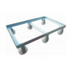 Stainless Steel Trolley for Crates - 6 x 0