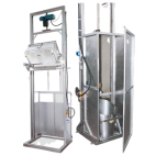 Equipment for Emptying Container