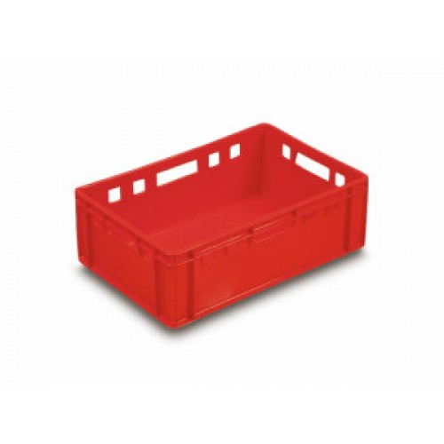 Red Euro Meat Container E2