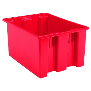 "Red Container-23.5"" x 19.5"" x 13"""