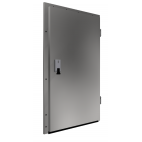 Stainless Steel Single-Leaf Hinged Door