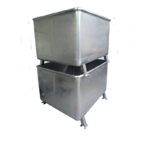 Stainless Steel Stacking Container