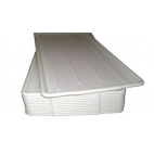 White Plastic Supermarket Meat Trays