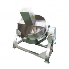 Heavy Duty Cooking Kettle with Mixer
