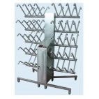 Two Sided Footwear Dryer with Arm Direct Down