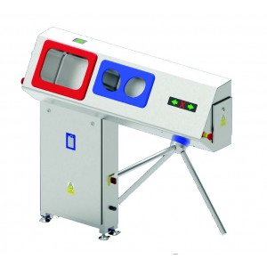 Free Standing Hand Washing and Disinfectant Supply Device with Access Control