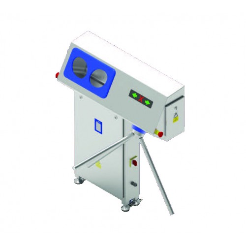 Free Standing Hand Disinfectant Supply Device with Access Control