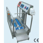 Low-heeled shoe washer and hand washer/disinfection unit
