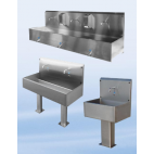 Multi-Stand Gutter Washbasin