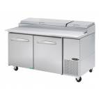 Kool-it Pizza Prep Table - KPT-67-2 - Double