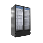 Pro-Kold VC43 Double Glass Door Vertical Cooler