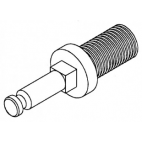 Feed Screw Stud - 32 - Long - HK-48