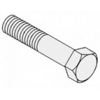 Hinge Plate Bolt - SS-  HHS0481S