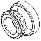Lower Main Bearing 33,34,1433, 1433FH, 3334, 3334FH