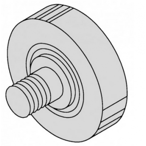 Table Bearing - 1 7/16 Stainless 33, 44 - OEM 16159