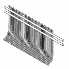 Front Wire Comb Scraper For Biro Tenderizer T3116