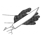 Safety Glove Cloth W/Steel Wire
