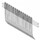 Stew Back Wire Comb