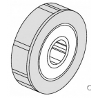 Roller With Ball Bearing