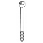 Foot Mounting Bolt L=2 3/4