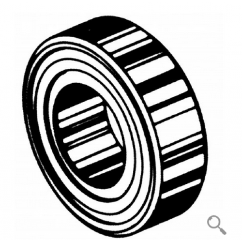Upper Main Bearing With 2 Seals