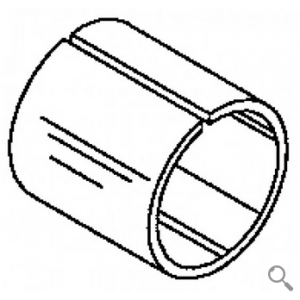 End Weight Bushing -Split Steel