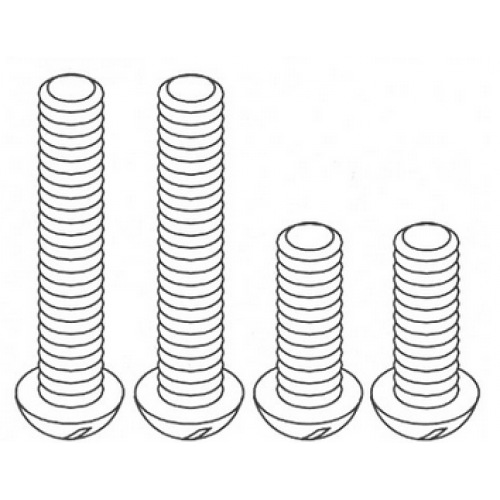 Chute Support Screw Set