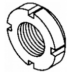 Castellated Lock Nut