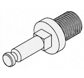 Feed Screw Stud -32 Single Lead