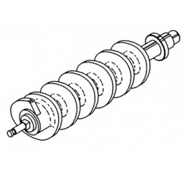 Worm / Feed Screw Assy  - 22