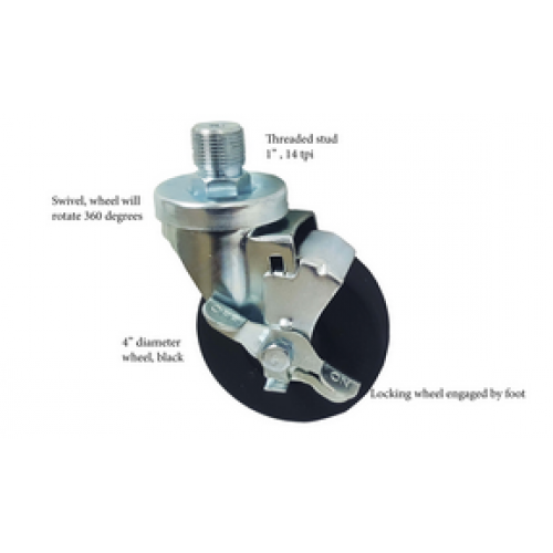 Caster -Swivel (locking)