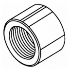 Back Shaft Nut-RH Thread