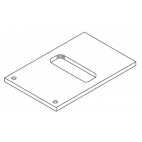 "3/8"" Adapter Plate And Screw"