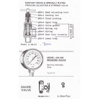 Parts for Presto Adjusting and Stirring Valve DB-12