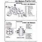 Parts for Presto Agitator-Air Motor