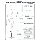 Parts for Presto Agitator-Motor Mount and Clamp