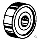 Saw Guide Bearing - OEM: 44976