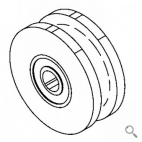 Carriage Wheel Assembly