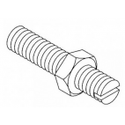 Wheel Adjusting Screw With Nut