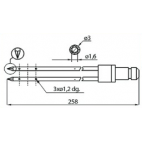 Dorit  L258 3mm Injector Needles
