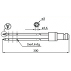 Dorit L300 3mm Injector Needles