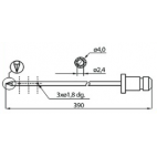 Dorit L390 4mm Injector Needles