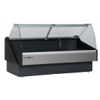 Hydra-Kool KFM-CG Series Deli Cases - Curved Glass