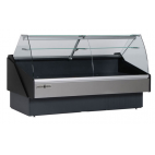 Hydra-Kool KPM-CG Series Packaged Deli Cases - Curved Glass