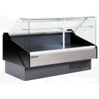 Hydra-Kool KPM-FCG Series Packaged Deli Cases - Flat Glass