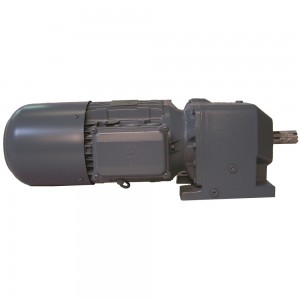 Gear motor with break Exploded View SR2 Dicer No. 74 and Higher