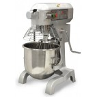 Planetary Mixer with Guard and 3 Attachments 20qt