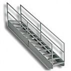 Custom Stainless Steel Stairs