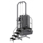 Revic Pneumatic Evisceration Platform with Tub